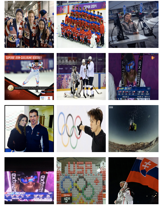 Sochi 2014 - day 4: photo grid